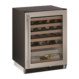 U-Line 1000 Series 1024WC Stainless 24 Inch Wine Captain