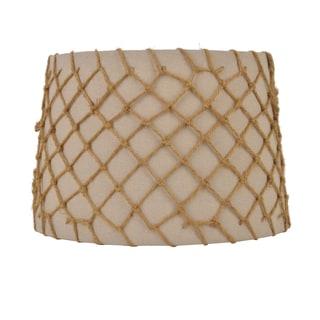 Linen & Jute Embellishment Hardback Shade