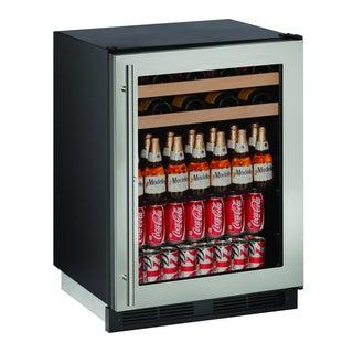 U-Line 1000 Series 1224BEV - 24 Inch Stainless Steel Beverage Center w/ Lock