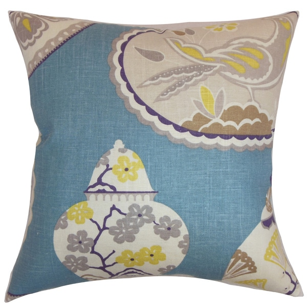 Xeniva Floral Throw Pillow Cover