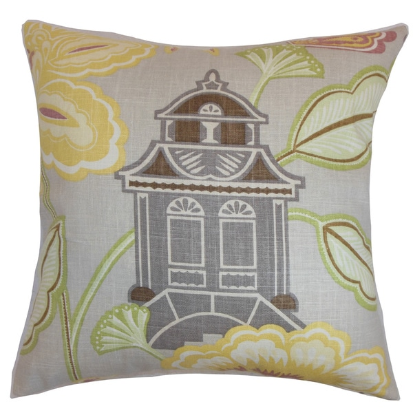 Yasawa Floral Throw Pillow Cover