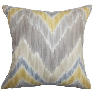 Caltha Zigzag Throw Pillow Cover