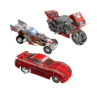 Smithsonian 3D Motorized Vehicle Puzzle (Pack of 3)