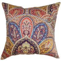Lehana Paisley Throw Pillow Cover