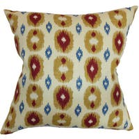 Jesolo Ikat Throw Pillow Cover
