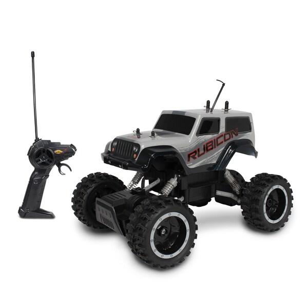 NKOK Mean Machines Rock Crawlers Remote Control RC Jeep Wrangler