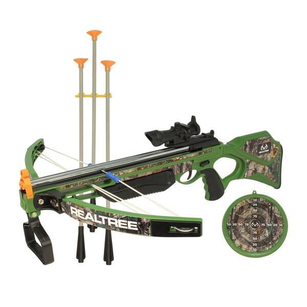 Nkok RealTree 26-inch Junior Compound Bow Set
