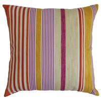 Usinsk Stripes Throw Pillow Cover