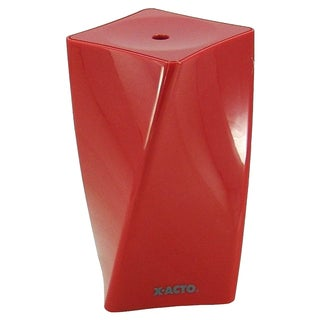 X-Acto Spira Red and White Plastic Electric Pencil Sharpeners (Set of Two)