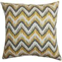 Perdita Zigzag Throw Pillow Cover