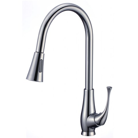 Single Hole CUPC Approved Brass Faucet In Chrome Color