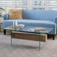 Deacon Glass Coffee Table by Christopher Knight Home