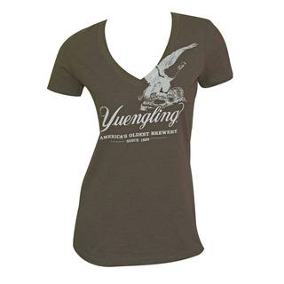 Women's Yuengling Eagle Green Cotton/Polyester T-shirt