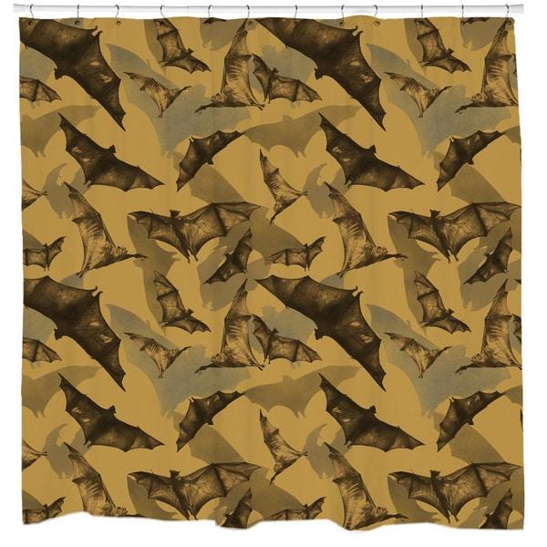 Sharp Shirter Bats Shower Curtain