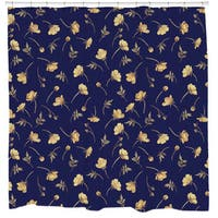 Sharp Shirter Buttercup Shower Curtain