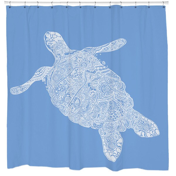 Sharp Shirter Elegant Turtle Shower Curtain