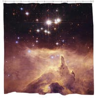 Sharp Shirter Emission Nebula Shower Curtain