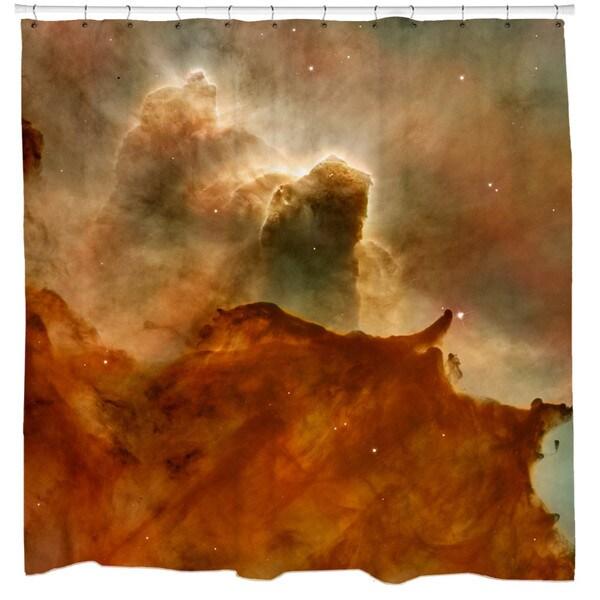 Sharp Shirter Great Clouds in Carina Nebula Shower Curtain