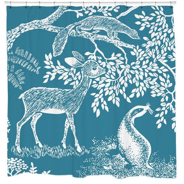 Sharp Shirter Little Deer Shower Curtain
