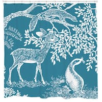 Sharp Shirter Little Deer Shower Curtain