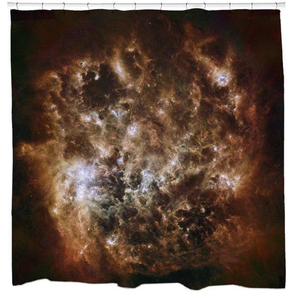 Sharp Shirter Magellanic Cloud Shower Curtain