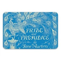 Sharp Shirter Pride and Prejudice Memory Foam Bath Mat