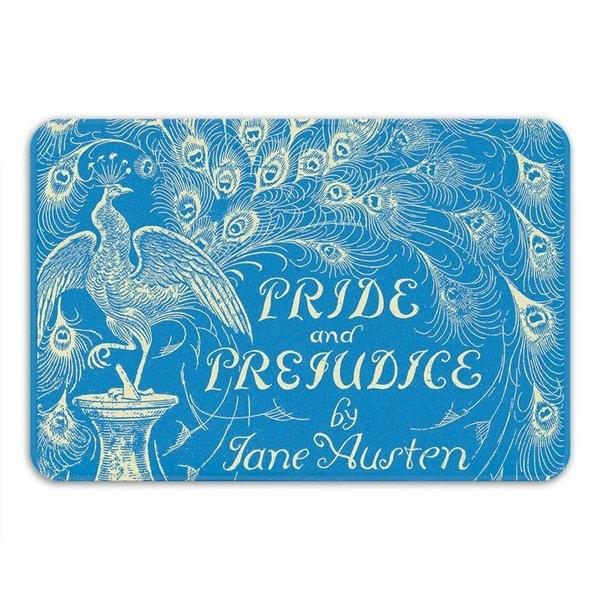 Sharp Shirter Pride and Prejudice Memory Foam Bath Mat
