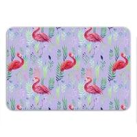 Sharp Shirter Flamingo Spotting Memory Foam Bath Mat