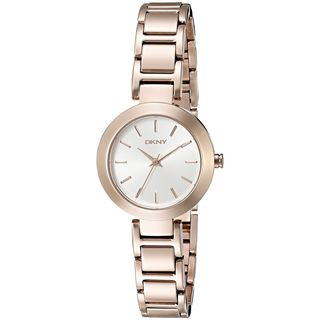 DKNY Women's NY2400 'Stanhope' Rose-Tone Stainless Steel Watch