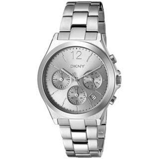 DKNY Women's NY2451 'Parsons' Chronograph Two-Tone Stainless Steel Watch