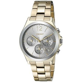DKNY Women's NY2452 'Parsons' Chronograph Gold-Tone Stainless Steel Watch