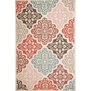 Christopher Knight Home Roxanne Fairen Indoor/Outdoor Multi Floral Rug (5' x 8')