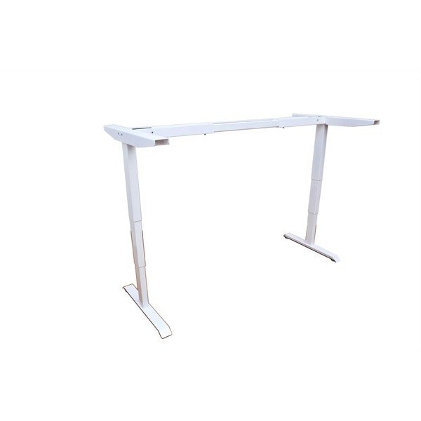 Shop Electric Height Adjustable Sit-stand Desk Frame Base with Dual ...