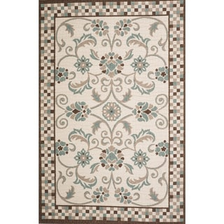 Christopher Knight Home Roxanne Charlotte Indoor/Outdoor Multi Rug (7' x 10')