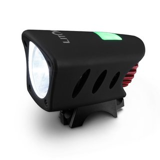 Bright Cree Black Plastic/ABS Rechargeable Waterproof 1200-lumens Bicycle Led Light Headlamp with 2 Free Red Bike Tail Lights