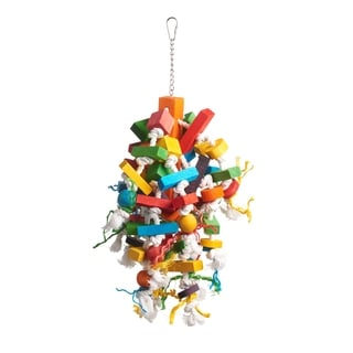 Prevue Pet Products Bodacious Bites Wizard Bird Toy