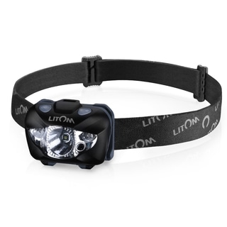 White/Red 168-lumen LED Headlamp