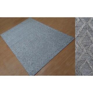 Aurelle Home York Hand Tufted Rug (5' x 8')