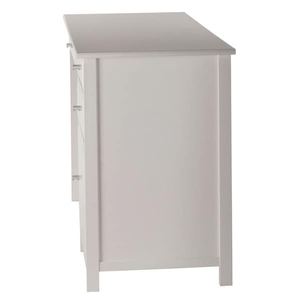 Winsome Delta White Home Office Writing Desk Free Shipping Today 18875608