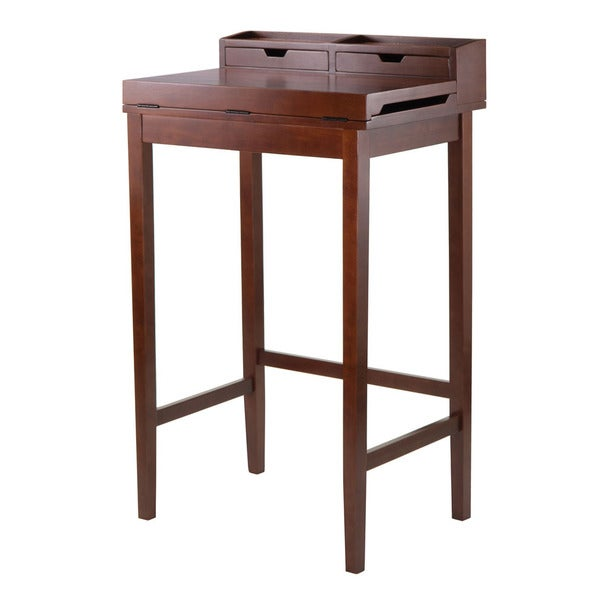 Brighton High Desk with 2 Drawers
