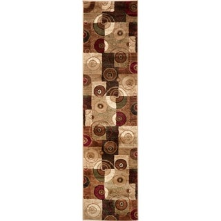 Home Dynamix Tribeca Collection Contemporary Multicolor Area Rug (1'9 x 7'2)