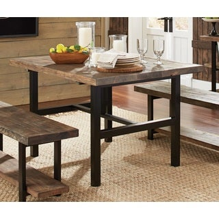 Great Pomona Metal And Reclaimed Wood 48 Inch Dining/ Kitchen Table
