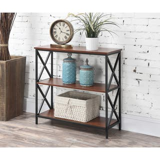 Convenience Concepts Tucson 3-tier Bookcase|https://ak1.ostkcdn.com/images/products/11996467/P18875709.jpg?impolicy=medium