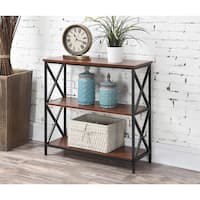 The Gray Barn Pitchfork Bookcase with Three Shelves
