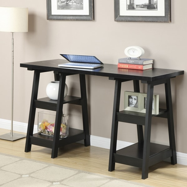 Double Trestle Desk