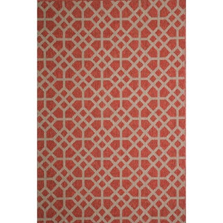 Christopher Knight Home Roxanne Larita Indoor/Outdoor Red Rug (8' x 10')
