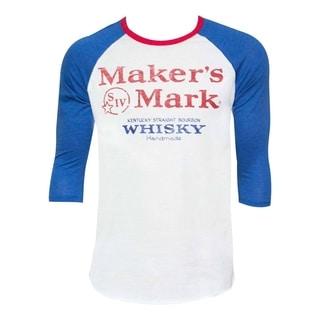 Men's Maker's Mark Blue Baseball T-shirt