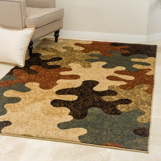 Christopher Knight Home Patrick Palash Multi Rug (8' x 10')