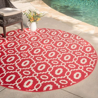 "Christopher Knight Home Roxanne Malina Indoor/Outdoor Rug (6'7"" Square)"