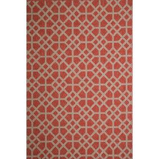 Christopher Knight Home Roxanne Larita Indoor/Outdoor Red Rug (5' x 8')